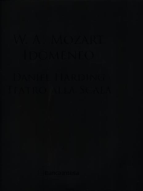 Idomeneo. Con DVD-ROM - Daniel Harding - copertina