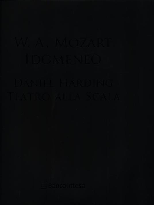Idomeneo. Con DVD-ROM - Daniel Harding - 2