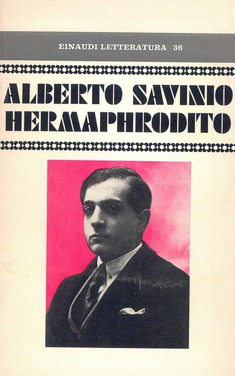 Hermaphrodito - Alberto Savino - copertina