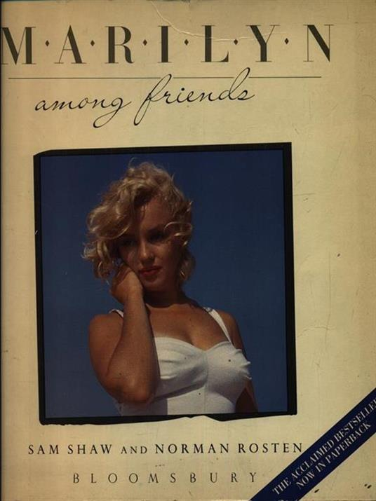 Marilyn among friends - Stanford Jay Shaw - copertina