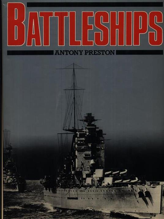 Battleships - Anthony Preston - copertina