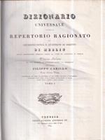 Dizionario universale di giurisprudenza 15 voll
