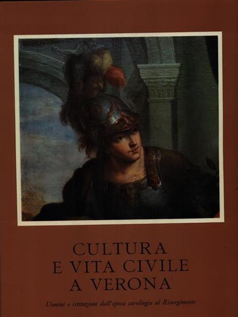 Cultura e vita civile a Verona - G. Marchi - copertina