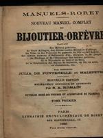 Nouveau manuel complet de Bijouter-Orfevre