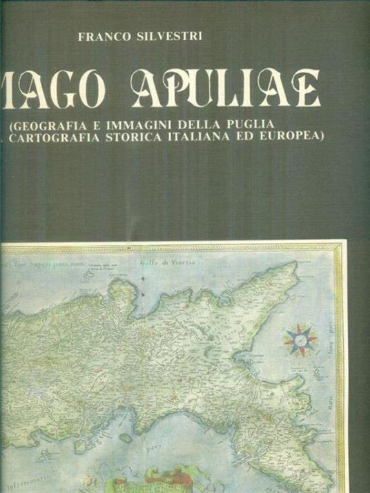 Imago Apuliae - Franco Silvestri - copertina