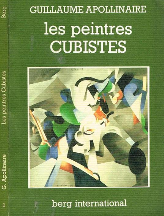 Les Peintres Cubistes - Guillaume Apollinaire - copertina