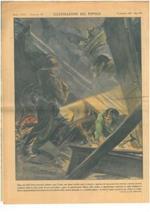 Dopo una delle feroci incursioni notturne sopra Torino, una donna travolta sotto le macerie e oppressa da una grossa trave veniva tratta in salvo grazie a un vigile volontario che mantenne la trave sollevata il tempo necessario per evitare il crollo
