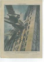 A New York, un aereo é andato a frantumarsi contro l'immensa facciata di uno dei più alti grattacieli. I cinque componenti dell'equipaggio sono deceduti