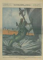 Il porto di Guayaquil, alle foci del fiume Guaya, nel Cile, é infestato dai coccodrilli. Mentre una nave stava per salpare, un coccodrillo si avvicinò all'ancora e rimase infisso con la enorme mascella in uno dei bracci