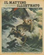 La tragica agonia di quattro marinai in lotta col mare in tempesta e, dopo diciotto ore, ad uno ad uno, strappati agli scogli. Il superstite riusciva con una corda a legare i cadaveri degli annegati, cioé del padre e dei fratelli, per riportarli a Marsala