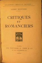 Critiques et romanciers