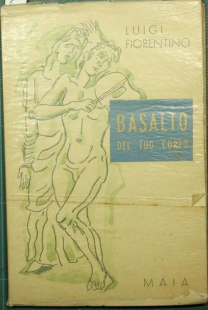 Basalto del tuo corpo - Luigi Fiorentino - copertina