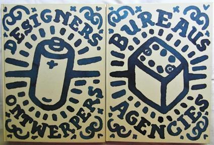 Dutch Design. Nederlands Ontwerp 1994. Volume 1: Bureaus Agencies. Volume 2: Designers Ontwerpers - copertina