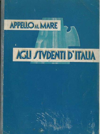 Appello al mare. Agli Studenti d'Italia - copertina