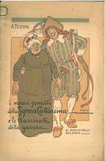 I nuovi sonetti della Sgnera Cattareina e le Narcisate della guerra. Copertina illustrata da Nasica