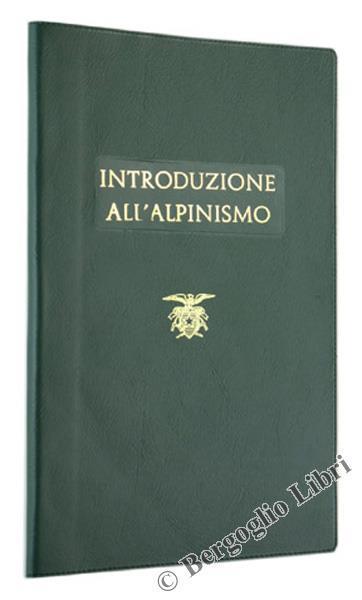 Introduzione all'Alpinismo - copertina