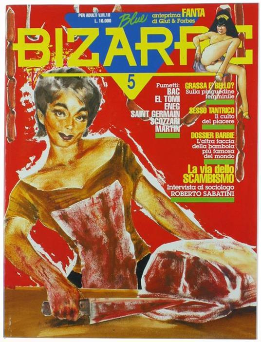 Blue Bizarre N. 5 - copertina