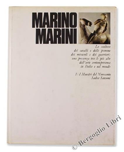 Marino Marini - Aberto Busignani - copertina