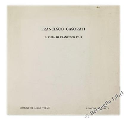 Francesco Casorati - Francesco Poli - copertina