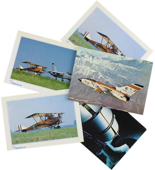 Aeritalia. 5 Cartoline Postali - copertina