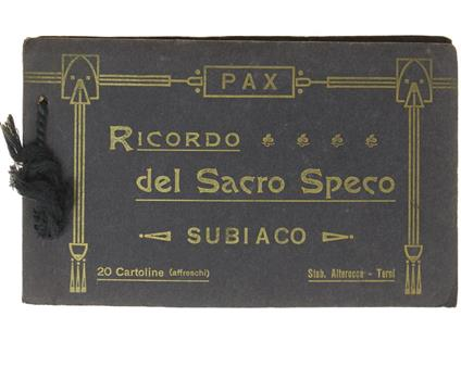 Ricordo Del Sacro Speco. Subiaco. 20 Cartoline (Affreschi) - copertina