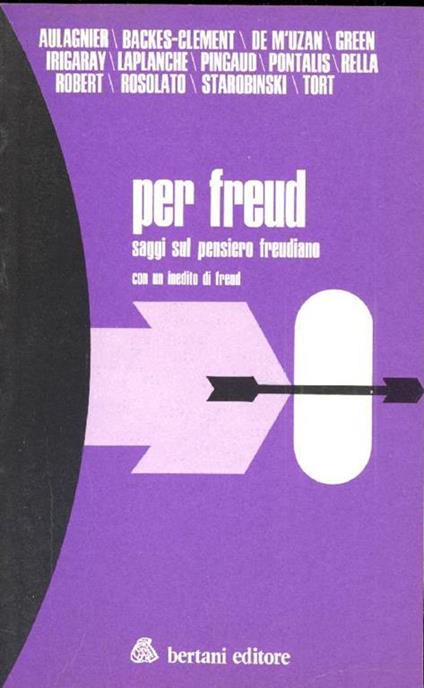 Per Freud - copertina