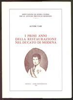 I primi anni della Restaurazione nel Ducato di Modena