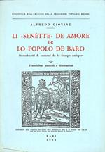 Li ''senettè' de amore de lo popolo de Baro. Strambuotti e canzuni de lo tiempo ant