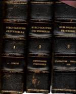 Nouveau manuel de Bibliographie universelle, in 3 voll