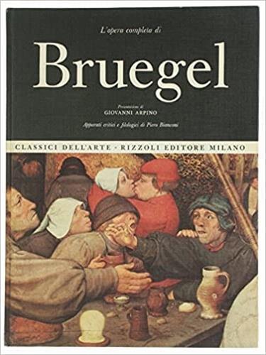 L' opera completa di Pieter Bruegel - copertina