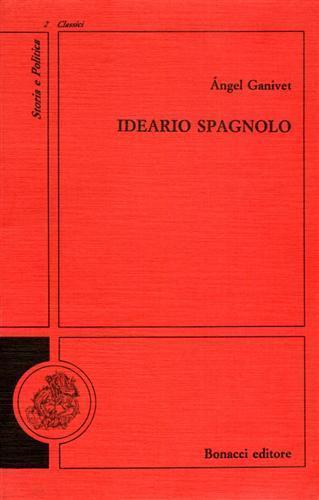 Ideario spagnolo - Ángel Ganivet - copertina