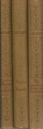 Conte d'Espagne et d'Italie- Poesies Nouvelles- Un spectacle dans un fauteuil