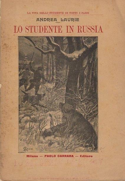 Lo studente in Russia - Andrea Laurie - copertina