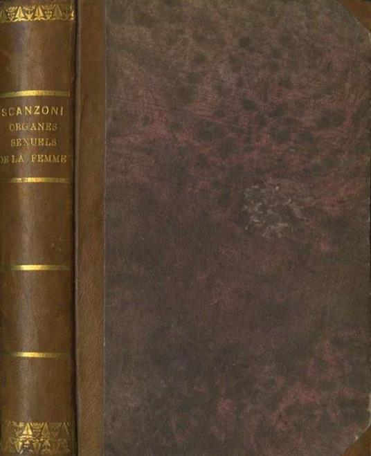 Traité Pratique Des Maladies des organes sexuels de la Femme - F.W. de Scanzoni - copertina