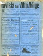 Rivista dell'Alto Adige e bollettino mensile del Club Alpino Italiano sezione di Bolzano. Anno II: N. 1-2, 3-4, 5-6 (gennaio-marzo 1923)