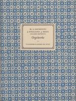 Ricercari, mottetti, canzoni - Ricercari e ricercate. Erster Neudruck herausgegeben von Giacomo Benvenuti. Italienische Klassiker der Musik 1