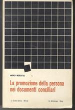 La promozione della persona nei documenti conciliari