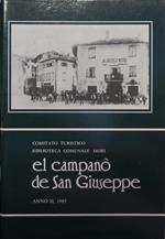 El campanò de San Giuseppe: rivista di storia, letteratura, arte e curiosità