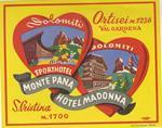 Hotel Monte Pana Madonna, Ortisei Val Gardena, S. Cristina