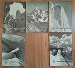 Rivista mensile del Club Alpino Italiano. A: LXXVII – 1958. N. 1-2 (2 copie), 3-4 (2 copie), 5-6 (4 copie), 7-8 (2 copie), 11-12 (2 copie)
