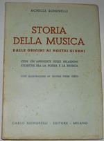 Storia della musica. Dalle origini ai nostri giorni
