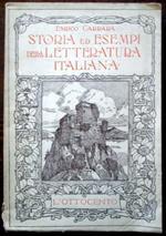 Storia ed esempi della letteratura italiana. L'ottocento