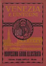 Venezia e dintorni. Nuovissima guida illustrata con pianta topografica della città e dell'estuario