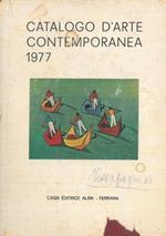 Catalogo d'arte contemporanea 1977