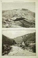 Nell'Umbria / Il monte Vettore nella Sabina - Il Castelluccio / La piena della Nera presso i bagni. Mancastropa inc