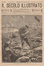 La La guerra russo-giapponese - La difesa di Port-Arthur. Bonamore A. dis. - Calcaterra inc