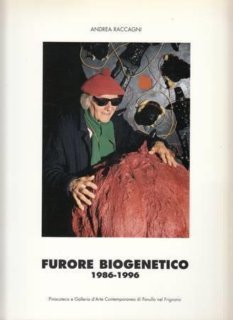 Andrea Raccagni. Furore biogenetico 1986-1996 - Alessandra Borgogelli - copertina