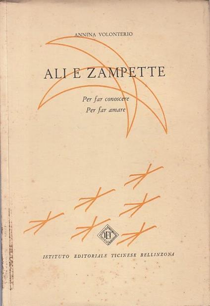 Ali E Zampette - Annina Volonterio - copertina