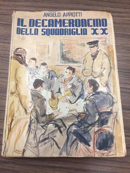 Il Decameroncino della Squadriglia XX - Angelo Appiotti - copertina
