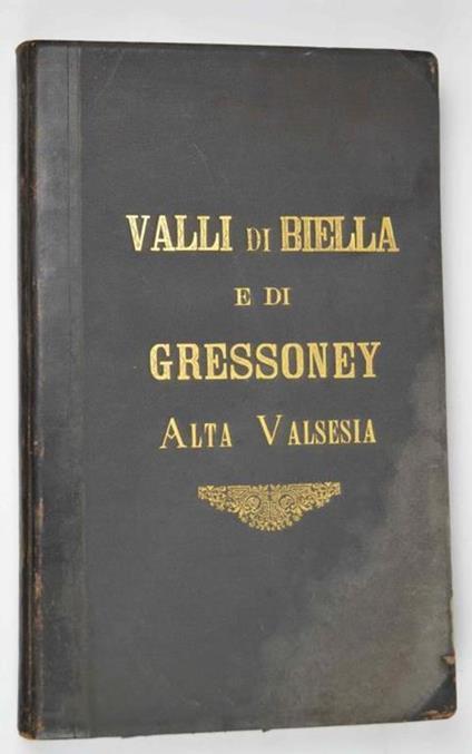 Valli di Biella e di Gressoney Alta Valsesia - copertina